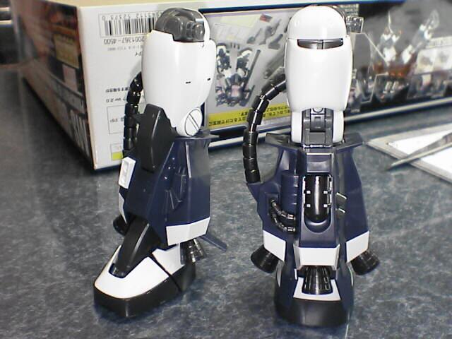 MG 高機動型ザクII MS-06R 黒い三連星 Ver.2.0 脚部2