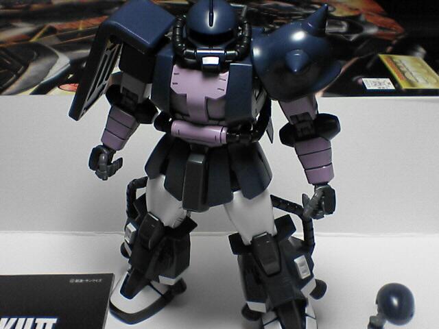 MG 高機動型ザクII MS-06R 黒い三連星 Ver.2.0 完成